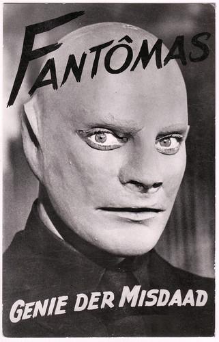 Jean Marais as Fantomas