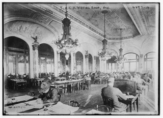 YMCA writing room, Nice (LOC)