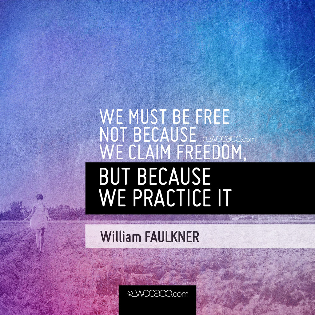 We Must Be Free by WOCADO