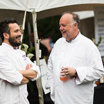 Fabio Viviani and Tony Mantuano
