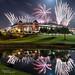 Fireworks Over Globe Life Park by kinchloe