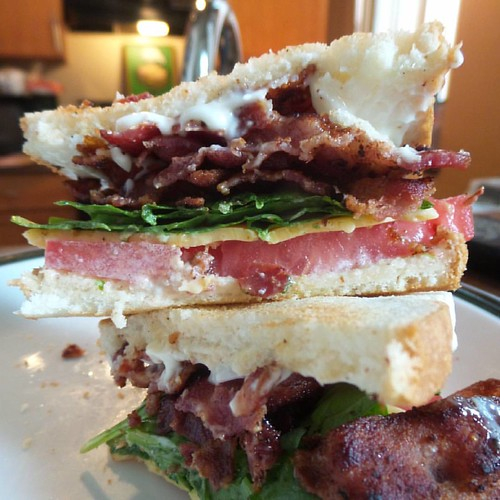 This just in, BLTs are delicious. #NoFilter