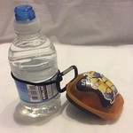 Water bottle, bobble and mouthguard