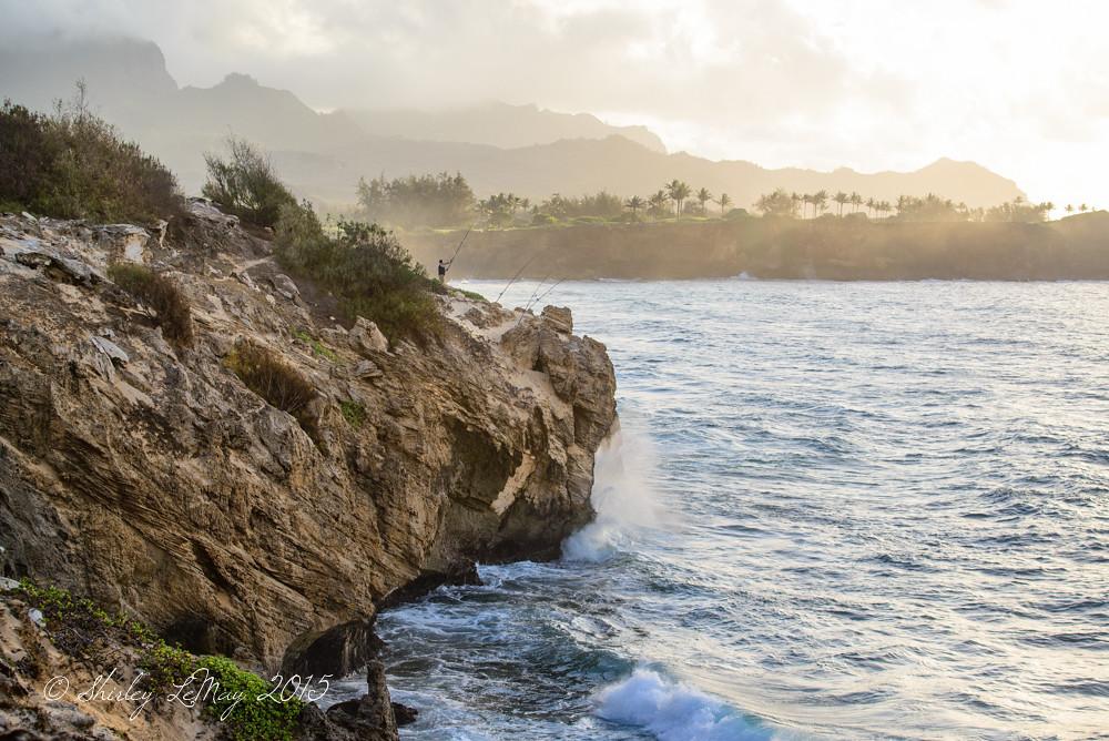 The Fisherman #kauai #poipu #hawaii #coastal
