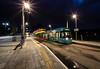 Tram stop by (decipher shot) Steve