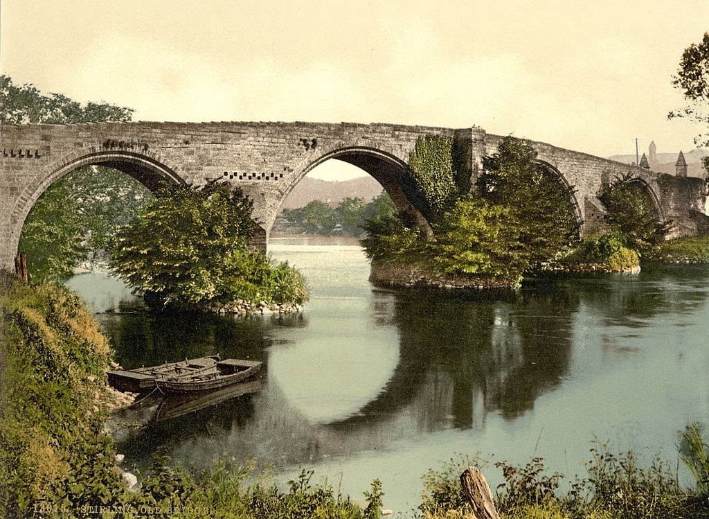 Old bridge, Stirling, Scotland