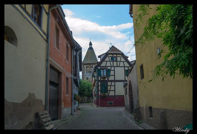 Puerta Alta en Bergheim