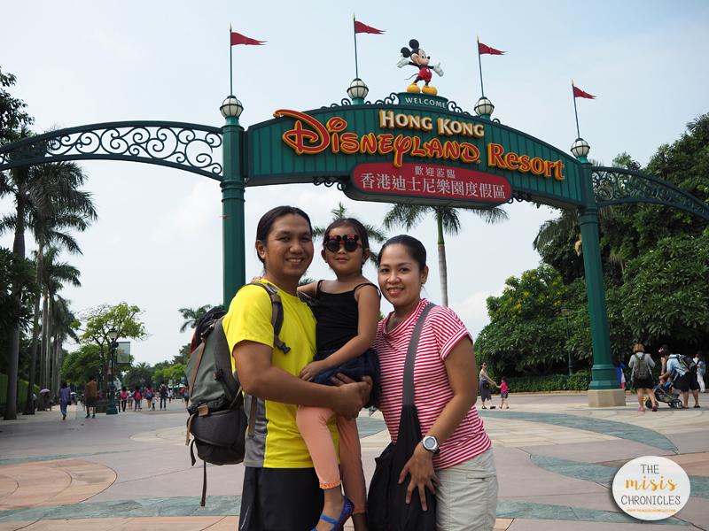HK Disneyland 2015