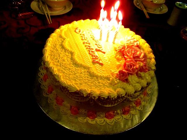 Melissa's brithday cake