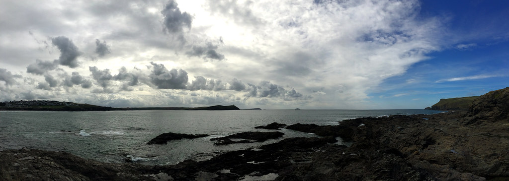 Polzeath Beach Panoramic