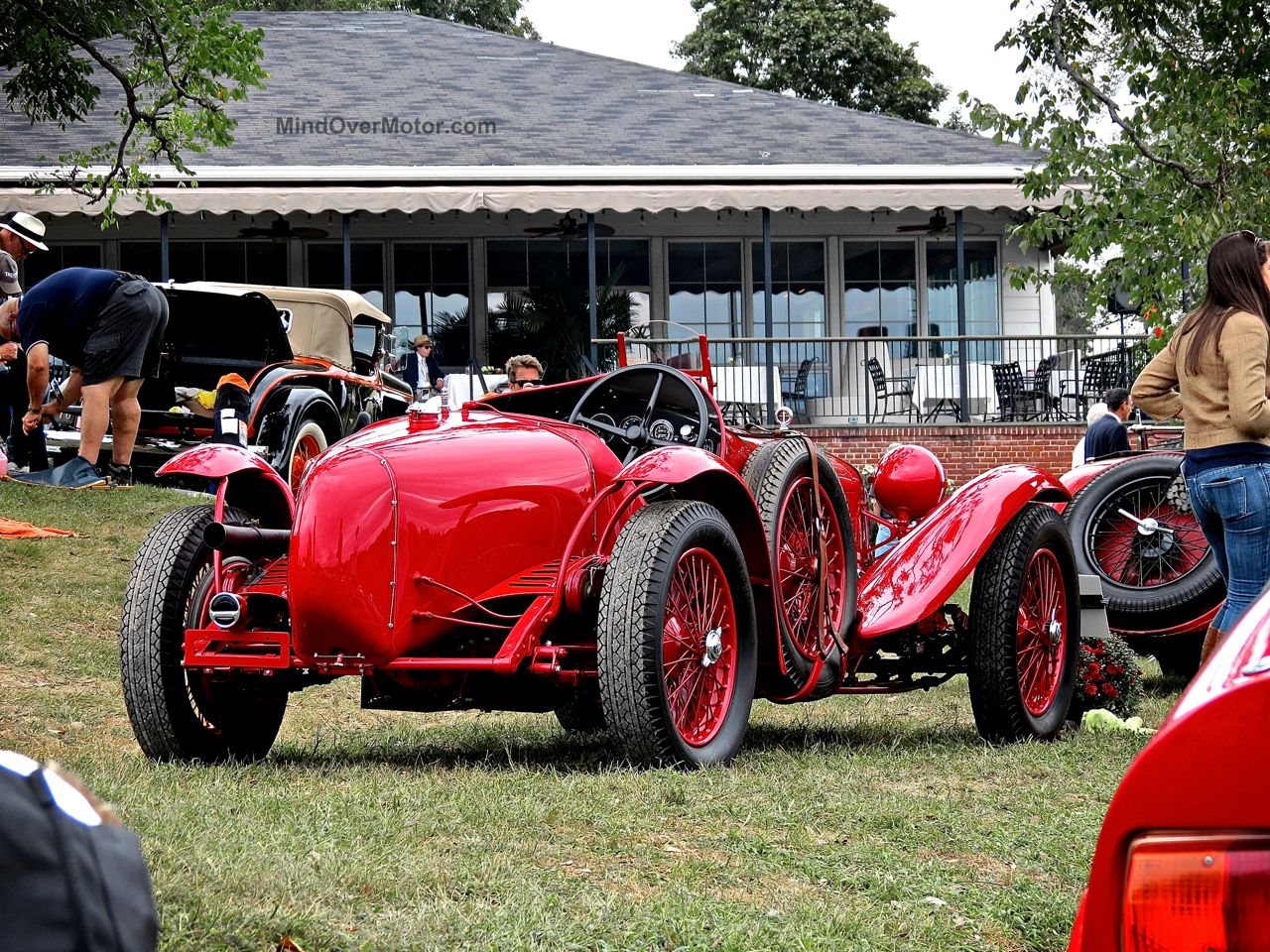 Radnor Hunt Alfa Romeo 8C Monza Rear
