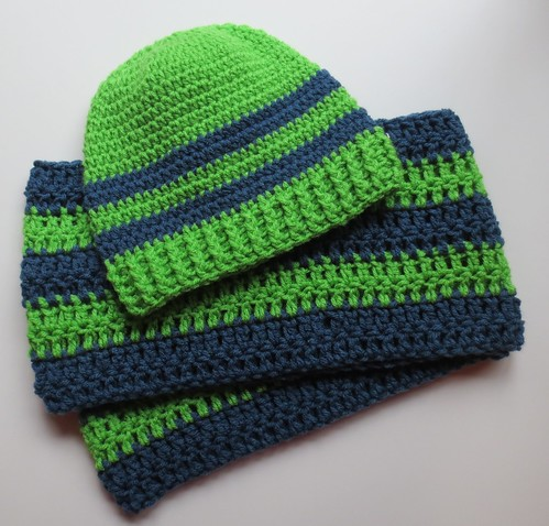 Crocheted Seahawks Gear