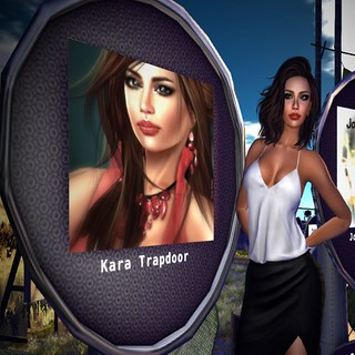 Kara Trapdoor by jumpman Lane at the MadPea Celeb Auction