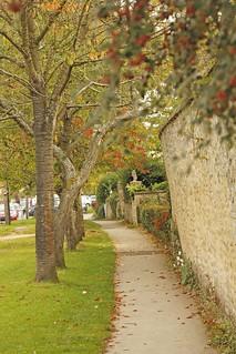 Walking around Standlake, Oxfordshire