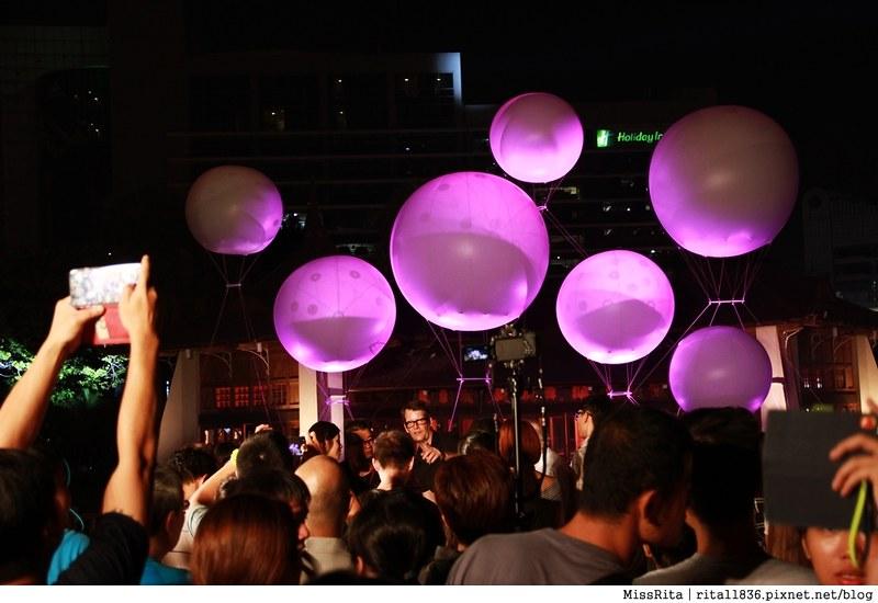 《遊記》台中中區‧2015臺中光影藝術節Taichung Light Festival,全台首創規格最大「球型水上投影秀」就在湖心亭登場!