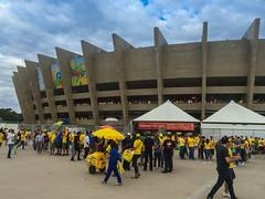 Stadion Belo Horizonte Halbfinale WM 2014