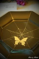 ハロウィン装飾「蜘蛛の巣館のキッチンウィッチ」