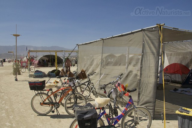 naturist gymnasium 0013 Burning Man 2015, Black Rock City, Nevada, USA