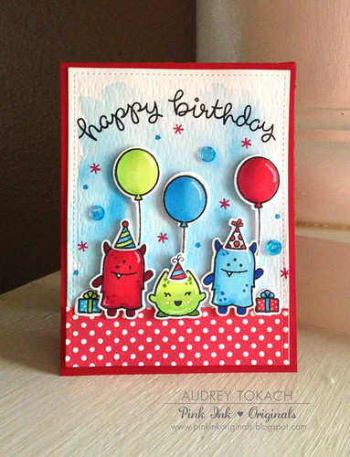 Monster Birthday Card