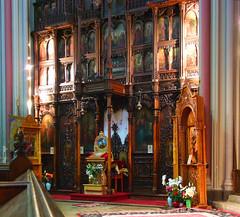 Romanian Orthodox iconostasis