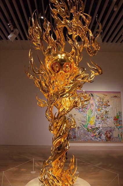 Takashi Murakami flame