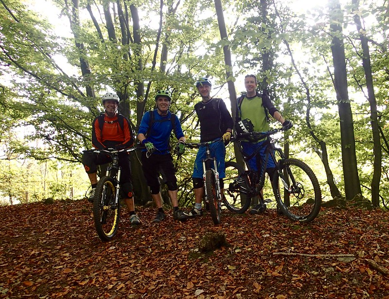 FoD - Autumn MTB ride #forjenn