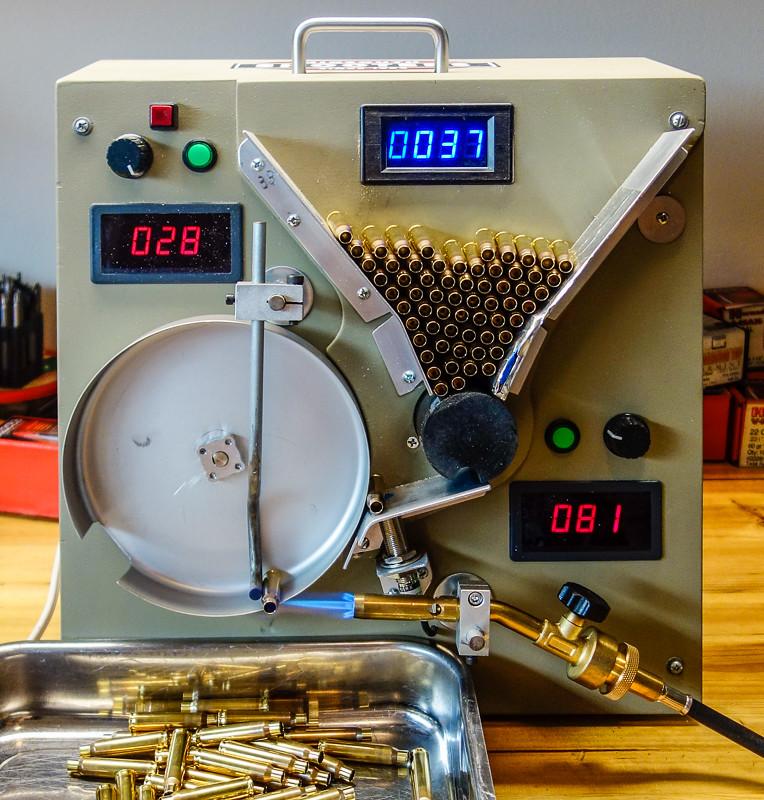 reloading annealing machine