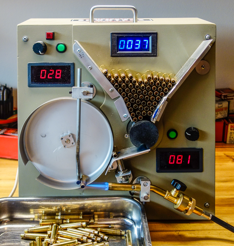 brass annealer machine