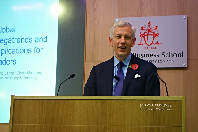 Dominic Barton, Global Managing Partner, McKinsey, on 4 Global Trends & what we should do about it. from RAW _DSC5687