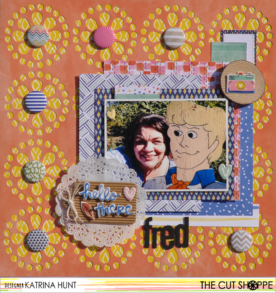 Hello_There_Fred_Scrapbook_Layout_The_Cut_Shoppe_Katrina_Hunt_1000Signed-1