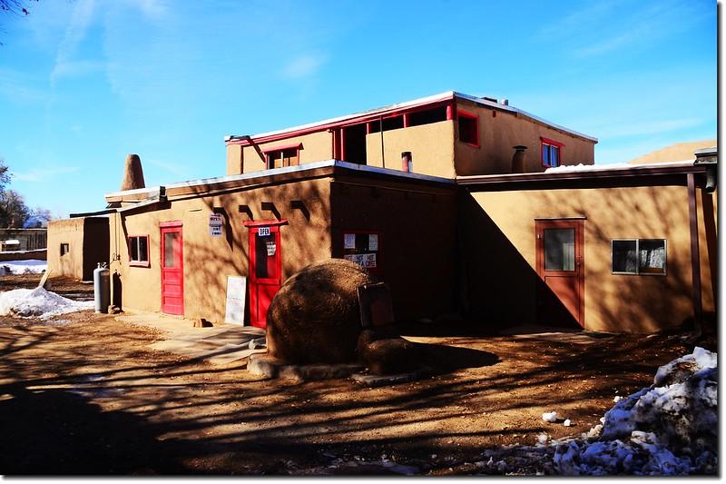Taos Pueblo Adobe House 7