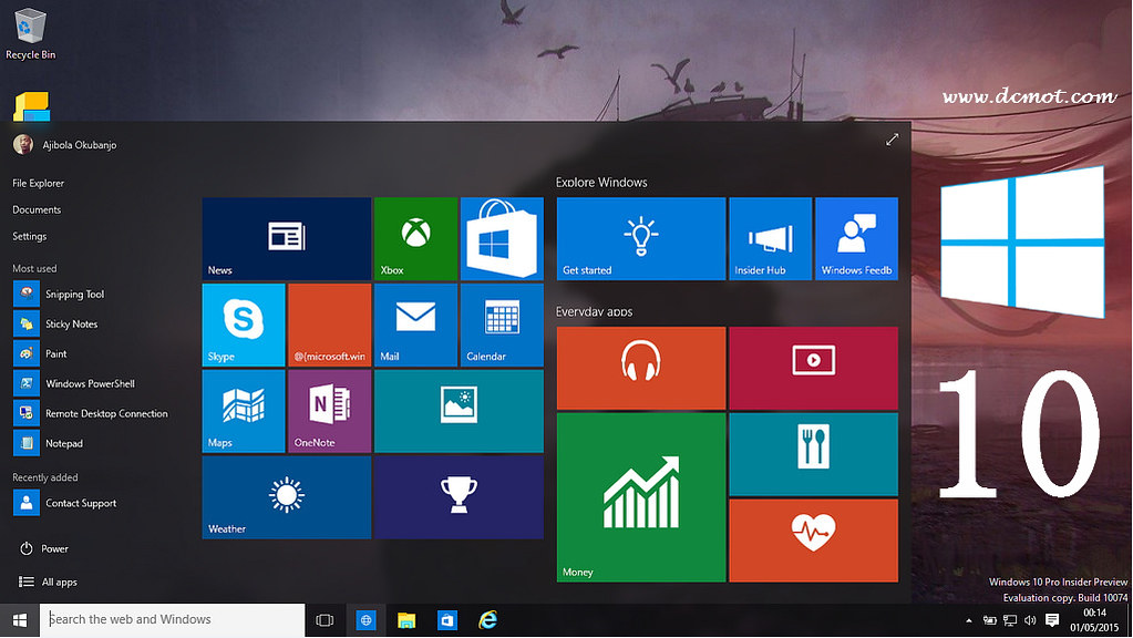 free windows 10 download and install