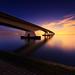 Zeelandbridge, The Netherlands by sven483