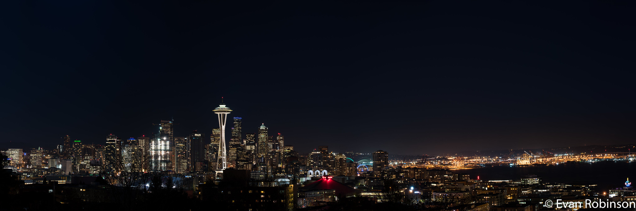Night Skyline from Kerry Park