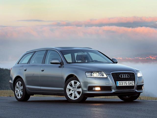 Универсал Audi A6. Рестайлинг 2008 года