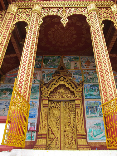 Luang Prabang: le temple Vat Manorom