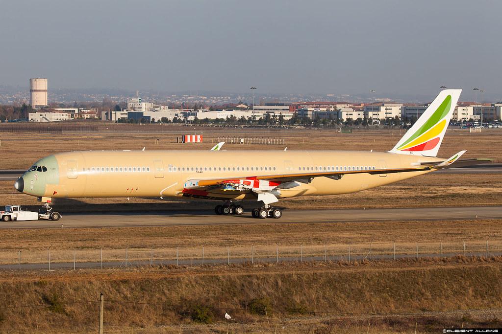 Ethiopian Airlines Airbus A350-941 cn 040 F-WZGM // ET-???