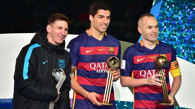 Mundial de Clubes Japón 2015: Luis Suárez Balon de Oro