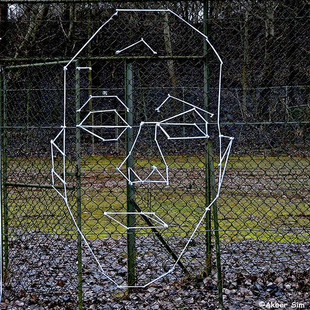 Den Haag Street Art : FEMOESA