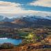 Lake District, Winter Panorama by RenaldasUK