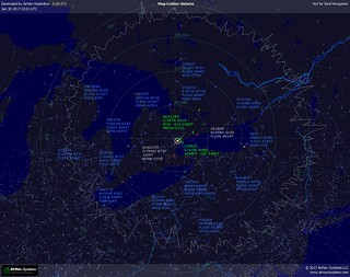 AirNav RadarBox - 5.00.071 Shot at 20170130 2201 UTC | by CYYZGUY