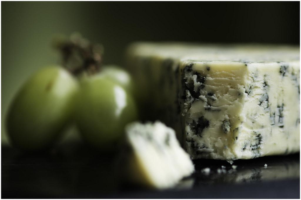 Macro Mondays - Say Cheese! - Stilton & Grapes