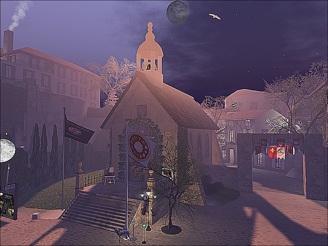 Ville de Coeur -  Moonlit Church