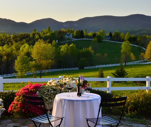 theredhorseinn blueridgemountains cottage azaleas wine romanticgetaway romanticview romantic greenville sc landrum