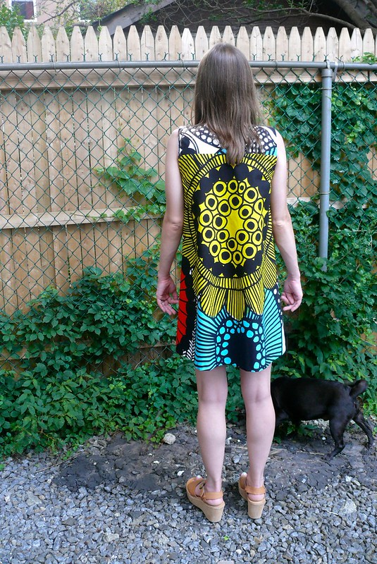 Pauline Alice Xerea Dress + Marimekko | Ginger Makes