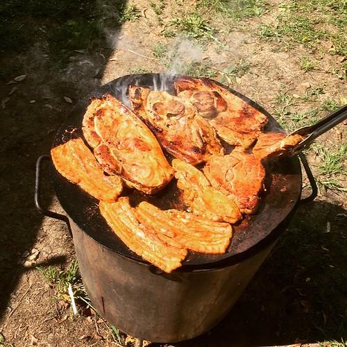 #hunger #romanianstyle #happy #ggb1578 #fleisch #grill #bbq #foame #waldbüttelbrunn