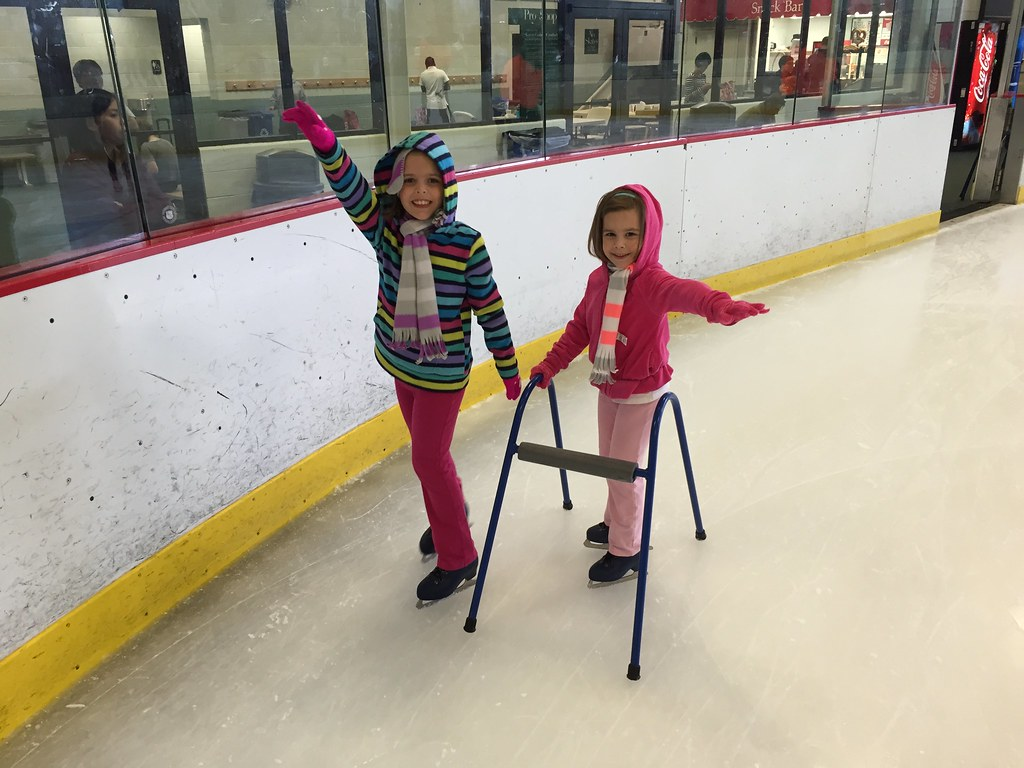 Summer ice skating