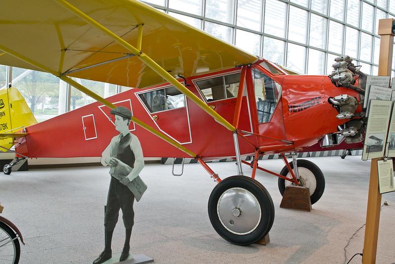 Mail plane @ The Museum of Flight, Seattle, WA