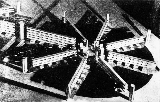 看守所感极强的20年代苏联建筑设计
