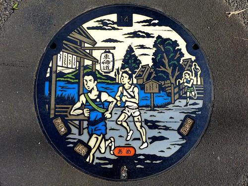 Yokohama Kanagawa, manhole cover (神奈川県横浜市のマンホール4)